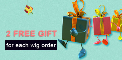 Free Gift for each wig order